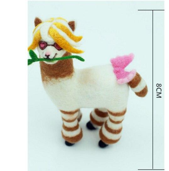 ขนาดเล็กสัตว์ขนสัตว์n eedlepointชุดขนสัตว์รู้สึกเข็มf eltingจี้หัตถกรรมneedlecraft DIYที่ทำด้วยมือ