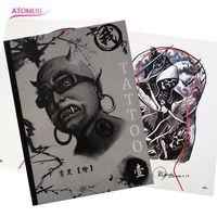 O Primeiro Volume WuWo Livro de Tatuagem Profissional Tatuagem Do Braço Perna de Trás para Body Art Tattoo Manuscrito