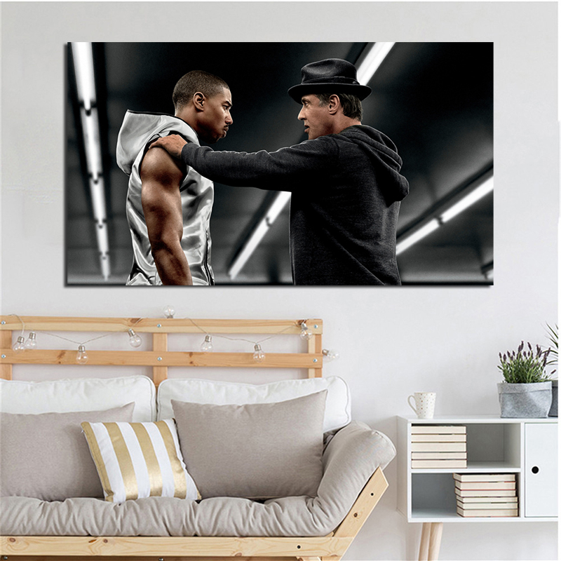 Film Creed 2015 Motivational Wall Art Canvas Posters Prints Painting Oil Pictures For Bedroom Modern Home Decor Framework