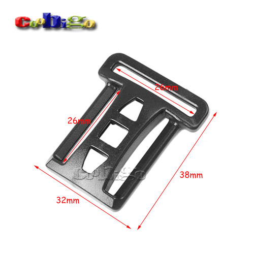 10pcs Pack 1x1 Double Multi-function Tri-glide Slider Adjust Buckle Hardware For Outdoor Backpack Bags Webbing #flc450-b2 Buckles & Hooks Arts,crafts & Sewing