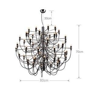Image 5 - Nordic Modern ผลไม้โคมไฟระย้า Simple แขวนไฟร้านอาหาร/โรงแรม/DingRoom โคมไฟโคมไฟระย้า E14 18/30/50 หัวแสง
