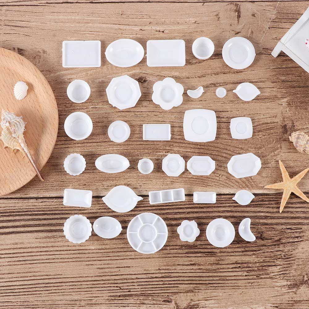 33PCS Dollhouse Mini Miniature Tableware Play House Models Educational Toy Hot