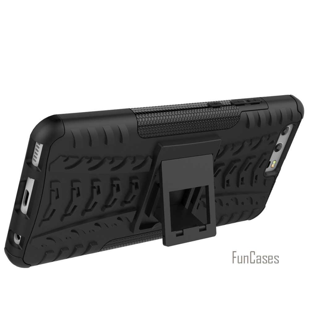 Per Il caso di Huawei P10 Plus Caso 5.5 inch Hybrid Cavalletto Dazzle Robusta Gomma Armatura PC + TPU Stand Funzione Antiurto caso