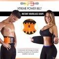 2016 Presell más nuevas mujeres de la cintura hombres deportes de formación de formadores Xtreme cinturón de energía ajustable ayuda de la cintura aptitud
