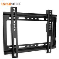 Universal TV Wall Mount Bracket For Most 14 32 Inch HDTV Flat Panel TV