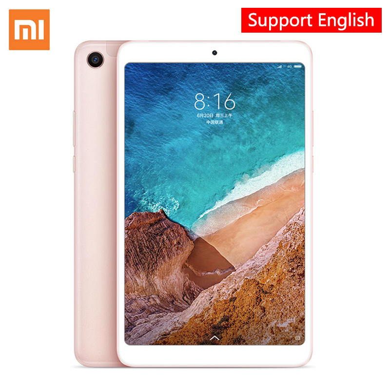 Xiaomi Mi Pad 4, OTG MiPad 4 Tablets 8 PC Snapdragon 660 Octa Core 32G/64G 1920 x 1200px 13.0MP+5.0MP Cam 4G Tablet Android