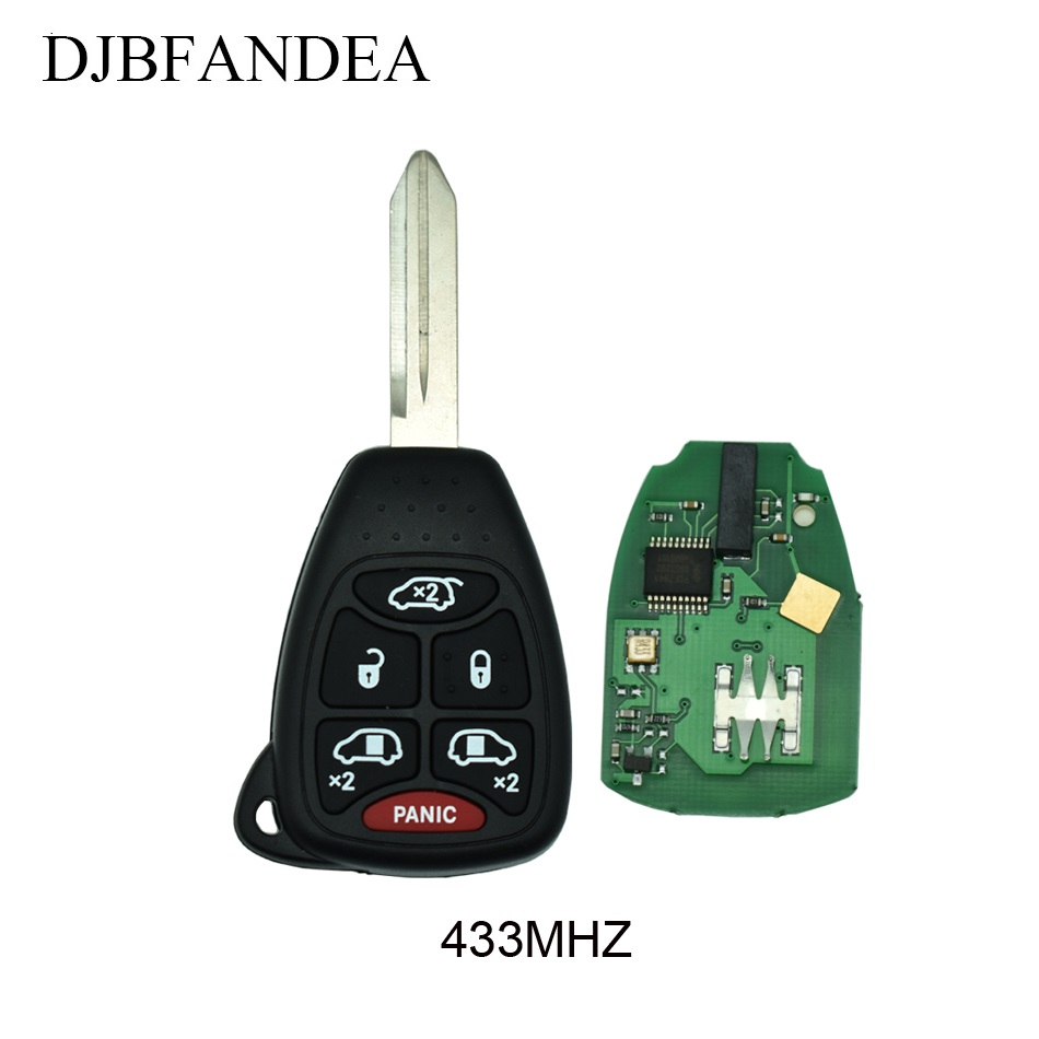 2 For 2004 2005 2006 2007 Chrysler Town /& Country Keyless Entry Key Remote