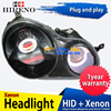 Car Custom Modified Xenon Headlamp For Volkswagen Polo 2002 10 Headlights Assembly Car Styling Angel Lens