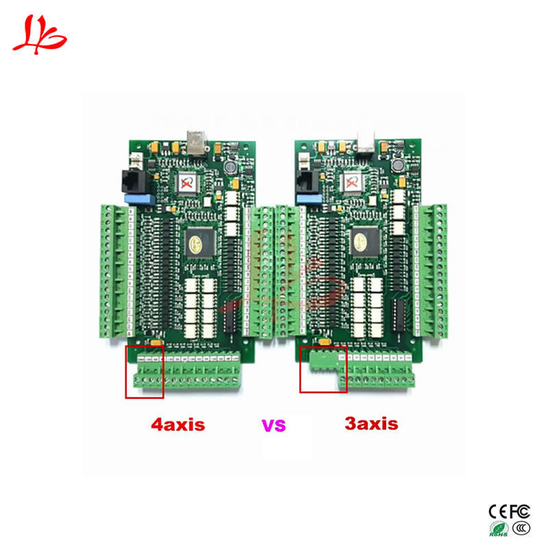 MACH3 CNC USB motion card Controller Breakout Board for 3axis 4axis 3axis usb cnc mach3 controller card interface breakout board