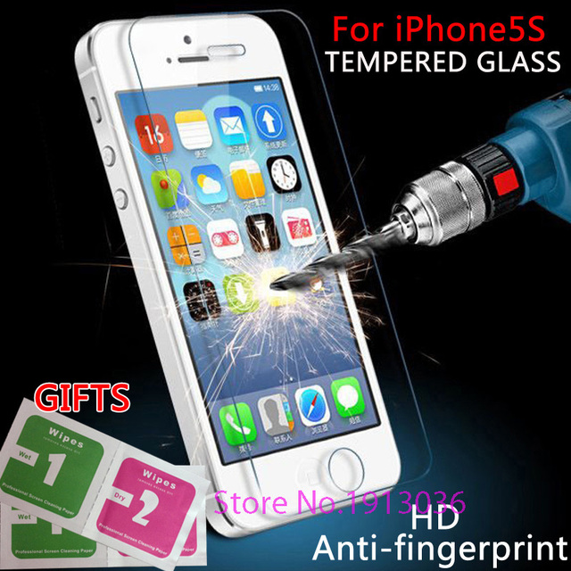 for iPhone 5 5s 6 6s tempered glass for iPhone6s/7 Tempered glass Protective glass film on the for iphone5 5s 6Tempered Glass