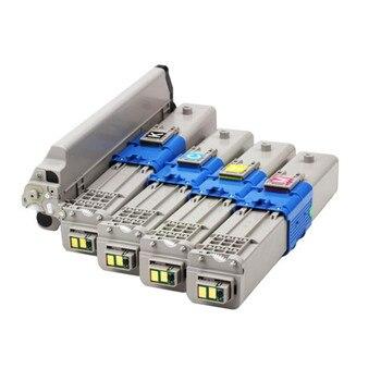 Color toner cartridge Full Original powder compatible OKI C530 C510 MC561 C531 C511 MC562 44973508 44469724 44469723 44469722
