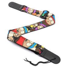 SEWS Young Soft Denim Strap Adjustable For Electric Acoustic Guitar Big Eyes Boy