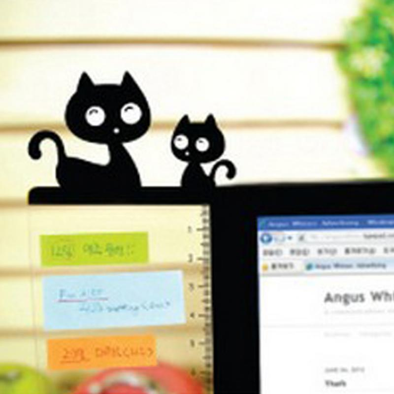 New Transparent Monitor Memo Board Computer Screen Card Holder Sticky Note For Office Home Stylish Cute Messege Board #15