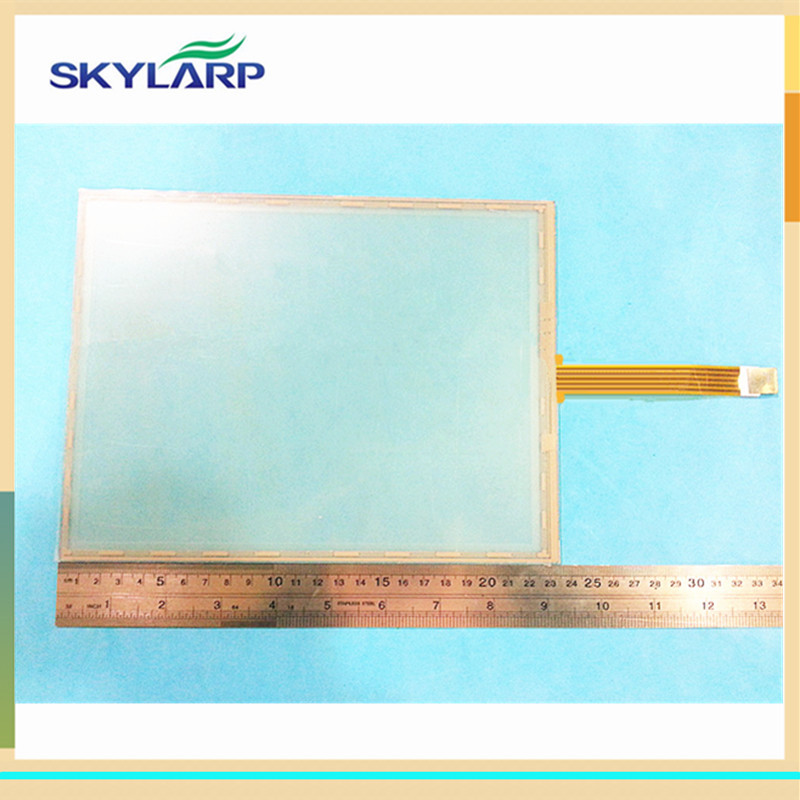 skylarpu New 10.4 inch 235*175mm 5 wire Resistive Touch screen 235mm*175mm GPS MID touch digitizer panel new 3 5 inch 4wire resistive touch panel digitizer screen for navitel nx 3100 nx3100 77 64mm gps free shipping