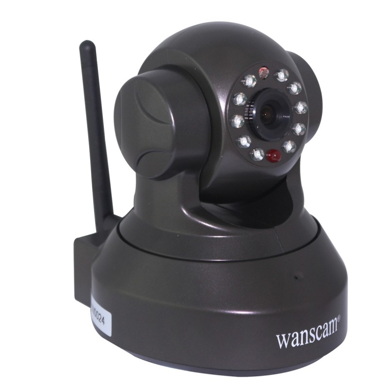 Wanscam HW0024 Wireless Wifi 720P IP Camera Dual Audio P2P Plug AND Play Pan Tilt Securi ...