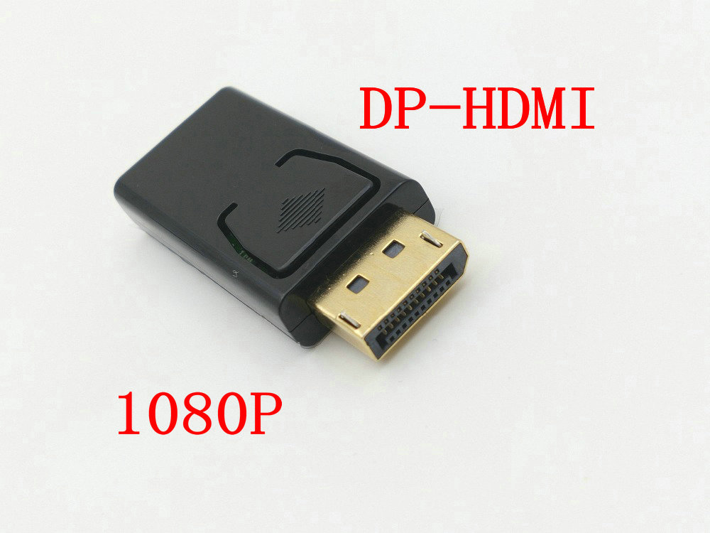 50pcs Display Port Male to HDMI Female Adapter for MacBook Pro Air HDTV DVD Connectors-in Connectors from Lights & Lighting    1