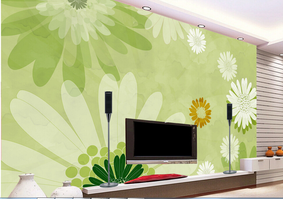 Custom 3D stereoscopic wallpaper,Hand-painted flowers,floral mural for living room bedroom Cafe backdrop waterproof wallpaper flowers butterflies stereoscopic 3d block large mural 3d wallpaper bedroom room backdrop painting three dimensional 3d wallpaper