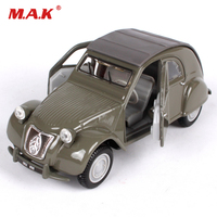 1/32 Scale 1952 Citroen 2CV Classic Car Model Diecast Car Collection Display Gifts with Box for Children Kid Toys