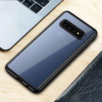 Galaxy S10 Plus Case Black Rubber 4