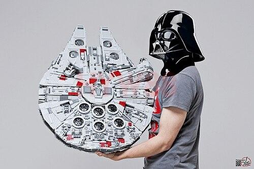 LP 05033, 5265 piezas de Star Wars último coleccionista del Halcón de bloques de construcción ladrillos Legoings juguetes clon 10179