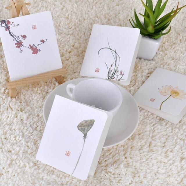 Klassischen Chinesischen Wind Blume Karten DIY Kreative Einfache Mini  Grußkarten Für Einladungen Geburtstag Hochzeit Liefert