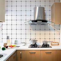 Kitchen wall renovation anti oil wall sticker self adhesive bathroom decoration Mosaic Nordic simple style waterproof wall paste