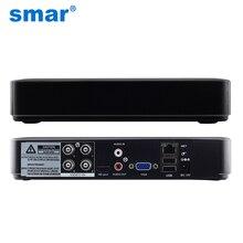 Smar мини гибрид 4ch 8-канальный ahdnh 1080n ахд dvr 5 в 1 ahd CVI TVI CVBS 1080 P Безопасности DVR NVR Для AHDM AHD Камеры 5MP IP камера