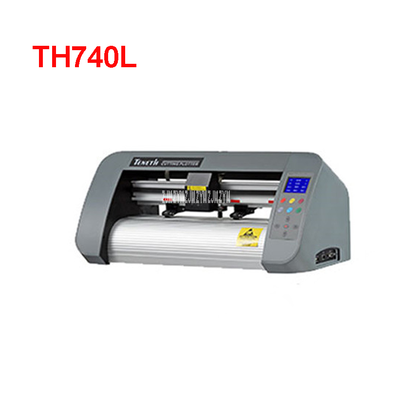 1PC 24 inch desktop contour cut plotter cutter TH740L with red eye 74cm cutting plotter including Flexi software 4MB Rom цены онлайн