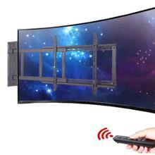 Интеллектуальный электрический пульт дистанционного управления, ЖК-дисплей, вращающаяся плоская поверхность, настенное крепление, многофункциональная тонкая тв стойка, тв стойка, 32-70 дюймов