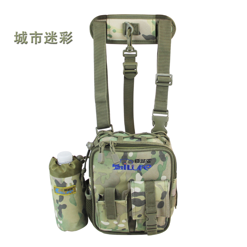 Free shipping Multi-Purpose fishing tackle bag 18*8*20 promotional bag Fishing lure box tackle accessary container