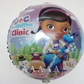 2pcs Doc McStuffins balloons little toy doctor clinic balloons for happy birthday balloons party decoration free shipping