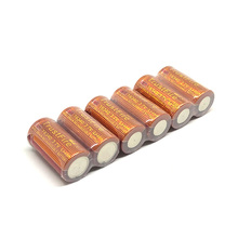 20pcs/lot Trustfire IMR 16340 3.7V 6500mAh real capacity 20A Li-ion Rechargeable Lithium Battery for E-cigarette Flashlights