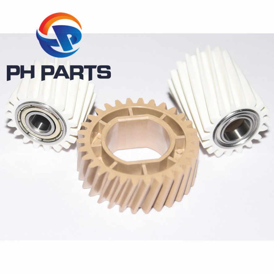 5 סטים עבור Ricoh Aficio MP C2003 C3003 C3503 C4503 C5503 C6003 MPC2003 MPC3003 MPC3503 MPC4503 כונן Fuser Gear