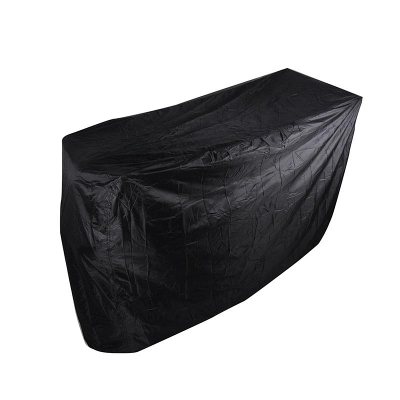 7 Saiz Black Waterproof Bbq Cover Outdoor Rain Barbecue Grill - Dapur, makan dan bar - Foto 4