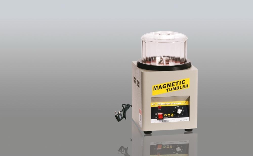Jewelry Making Machine 220V 600g Capacity Magnetic Tumbler Tumber Jewellery Polishing Magnetic Polisher ghtool