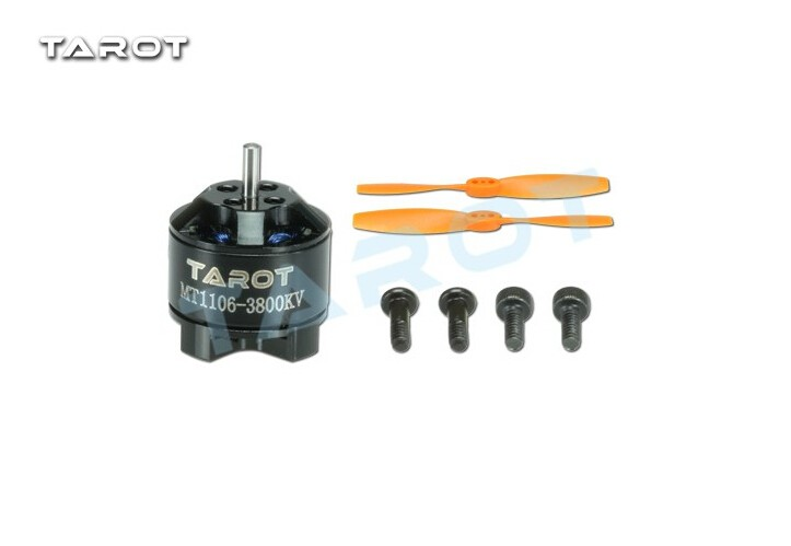 Tarot MT1106-3800KV Brushless Motor TL150M2 with 1 pair 3 Inch Propeller for RC Racer Copters Helicopter samsung 16gb class uhs i micro sdhc tf flash memory card usb card reader orange