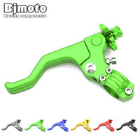 Motocross MX Dirt Bike 22mm 7 8 Handlebar CNC Short Stunt Clutch Lever Perch Assembly 6