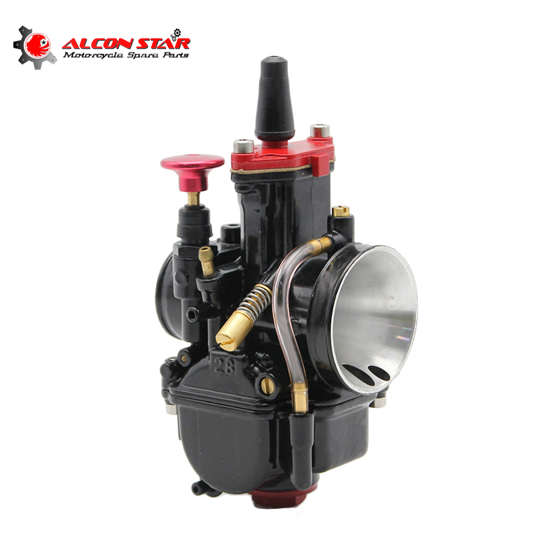 Alconstar High quality Motorcycle Carburetor PWK Carburator Koso Pwk 28mm 30mm 32mm 34mm Fit 100cc to