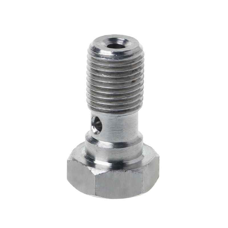 3/8 × 24 unf an-3 jic ステンレス鋼ボルト 20 ミリメートルロングブレーキホース継手目