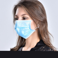 80pcs Elastic Ear Loop Disposable Masks Anti fog And Haze Dustproof Surgical Face Mouth Face Mask Respirator For Man Women