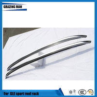High quality aluminium alloy material 2 pcs dedicated model roof rack for GLE sport
