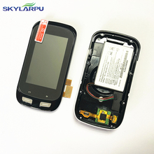 skylarpu Bicycle stopwatch for GARMIN EDGE 1000 bicycle speed meter LCD display Screen with back cover Repair replacement