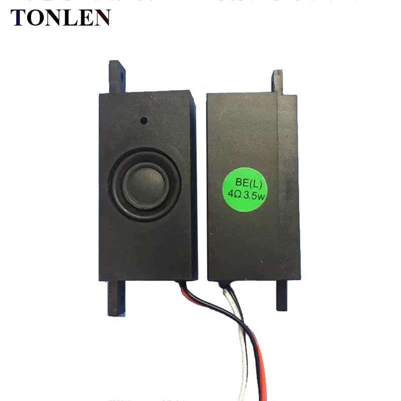Tonlen 2 Stücke Tv Passive Lautsprecher 8 Ohm 1 Watt Lcd Werbung Maschine Monitor Tv Lautsprecher Reparaturen 25*15mm Lautsprecher Computer Lautsprecher Soundbar