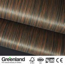 Ebony Veneer Flooring DIY Furniture Natural Material bedroom furniture chair table Skin Size 250x60 cm bed table Veneer