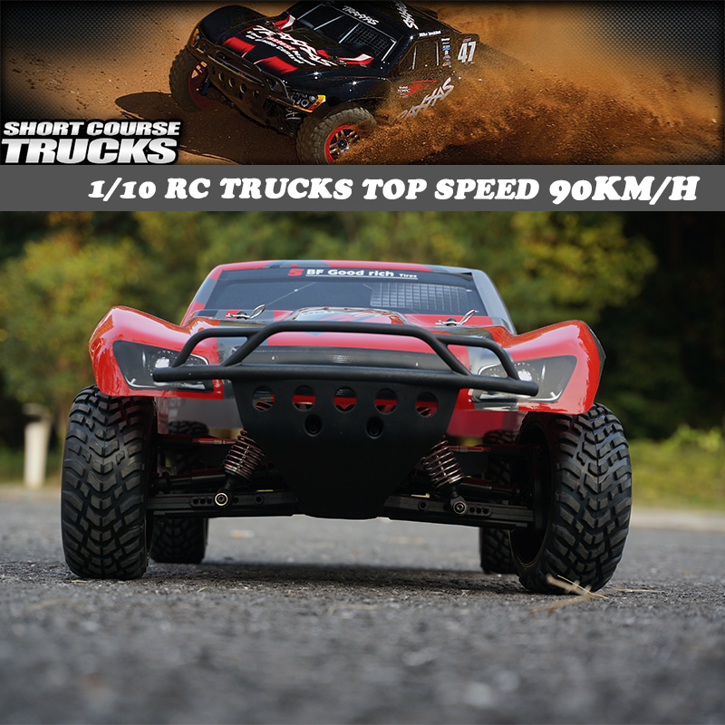1/10 Brushless 2.4G 4WD RC Electric Radio control top speed racing truck, Off Road car Confrontation with Traxxas Slash rc cars рубашка galvanni galvanni ga024emzcp50