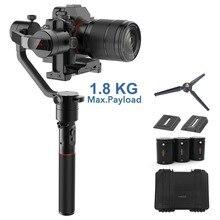 Карданный 3-осевой стабилизатор MOZA AirCross для беззеркальных камер до 1,8 кг, 12 часов работы, покадровая съемка, для Sony A7SII, Pana GH5