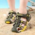 ULKNN Verano Niños Playa Sandalias Chicos Sandalias de Moda Niños sandalia transpirable Suela De Goma antideslizante Tamaño 26-37