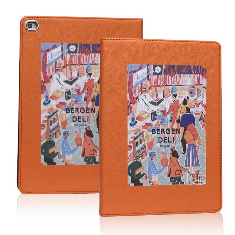For iPad Air 3 10.5 Inch 2019 hard back Flip smart stand cover pu leather illustration Cute Cartoon case For iPad Pro 10.5 2017 (1)
