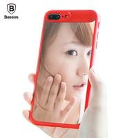 Baseus Luxury Mirror Case For IPhone 7 Plus Ultra Thin Soft Slim Phone Case TPU Silicone