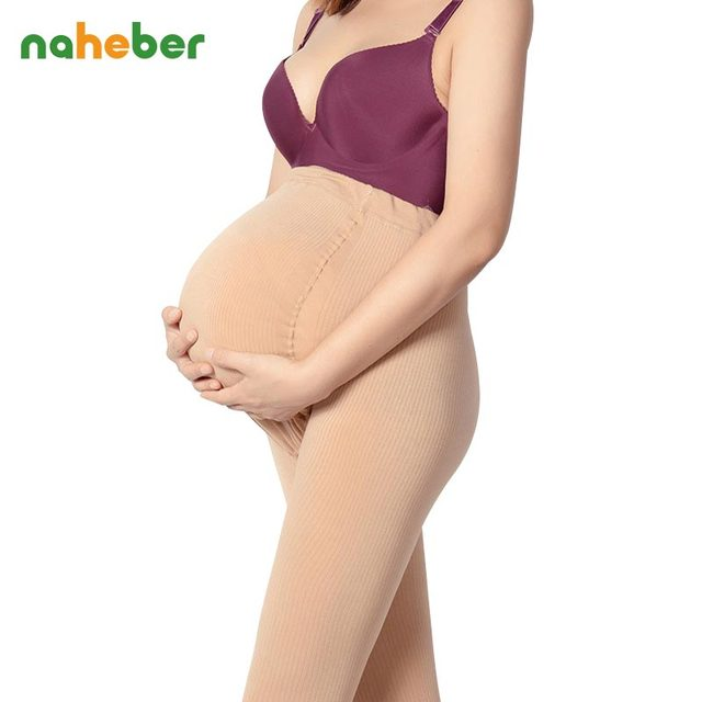 Autumn Winter 3800D Adjustable Maternity Leggings High Elastic  Warm Pants Clothes for Pregnant Women Stockings